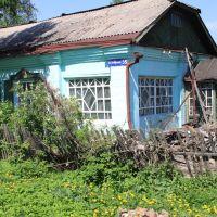В этом доме в период с 1948 по 2000 год проживали мой дед Сафоново И.Б. и бабушка Лазаревич Л.В. (фото от июня 2012 г.), Тайга