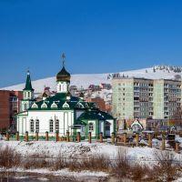 Церковь в новом цвете, Таштагол