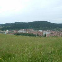 View to Pospelov st., Таштагол