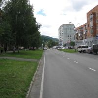 The 8-march street, Таштагол