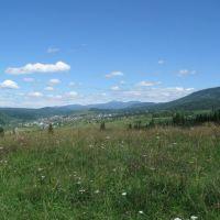 View to the North near Tashtagol, Таштагол