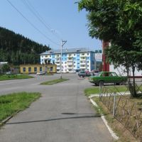 Nogradsky str. and Makarenko str., Таштагол