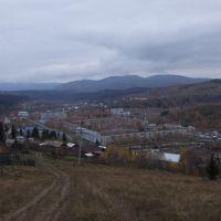 Вид на город, Таштагол