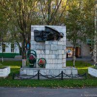 Памятник Герою Советского союза Якову Илларионовичу Баляеву, Таштагол