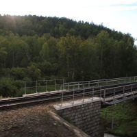 3787-й км Транссиба. Мост через р. Солдатка, Тисуль