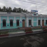 Станция Топки, Топки