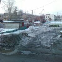 г.Топки, вид с балкона ул. Дзержинского 2, Топки