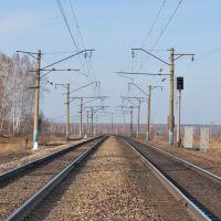 Участок Акимо-Аненка - Итат, перегон Тисуль - Итат, 3796 км Транссиба, Тяжинский