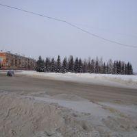 Перекрёсток улиц Исайченко, Кирова и проспекта Победы, Юрга