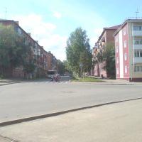 перекресток Строительной и Комсамольской улицы, Юрга