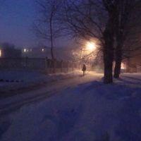 зимнее утро, Юрга