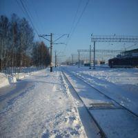 Станция Яшкино, Первый путь, Яшкино