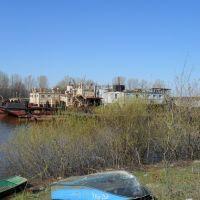 В затоне (п. Аркуль май 2011), Аркуль
