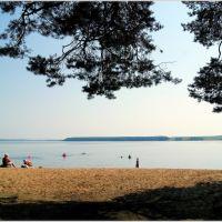 Пляж на Белой Холунице., Белая Холуница