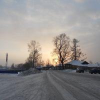 Восход солнца, Белая Холуница