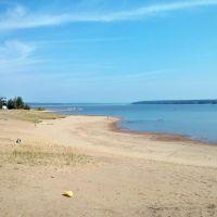 Старый пляж, Белая Холуница