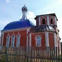 Церковь пока без купола, Белая Холуница