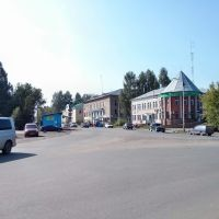 Перекресток трех улиц, Белая Холуница