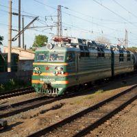 Электровоз ВЛ80с-1513, ст. Зуевка Горьковской ЖД / Electric locomotive VL80s-1513, station Zuevka of Gorky division of RZD (15/06/2008), Богородское