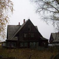 п.Созимский, барак построенный немецкими военнопленными, Боровой