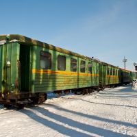 Каринторф, узкоколейная железная дорога, Каринторф