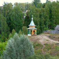 Церковь на берегу реки, Кильмезь