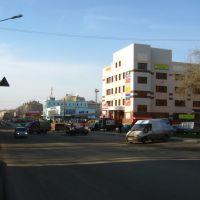 Улица Горького у автовокзала, Киров