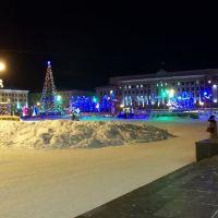 Новогодняя Театральная площадь, Киров