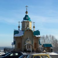 Фёдоровская церковь, северный фронтон, Киров