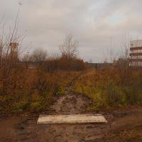 Здесь раньше проходила узкоколейка, Кирово-Чепецк