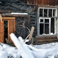Развалины барака на ул.Павлова, Кирс