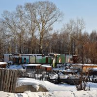 Развалины барака по ул.Павлова, Кирс