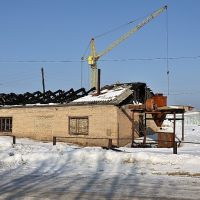 Развалины здания на Стройпосёлке, Кирс