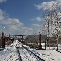 Железнодорожный выезд из завода Кирскабель, Кирс