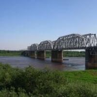 Панорама. ЖД мост, г. Котельнич, Кировской обл., Котельнич