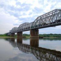 Мост через Вятку у Котельнича., Котельнич