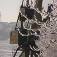 Вятка, порт, зима ледостав..., Котельнич