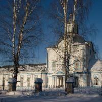 Спасская церковь в с.Кумёны, Кумены