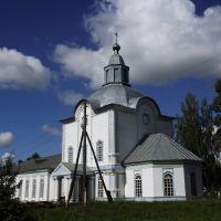 Спасская церковь с юго-востока, Кумены