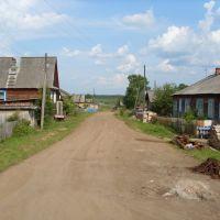 Улица Новая. Вид с ул. Советской, Нагорск