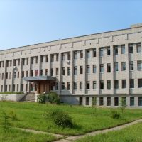 Здание администрации Нагорского района, ул. Леушина, 21, Нагорск
