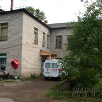 Нагорская центральная районная больница. Скорая помощь., Нагорск