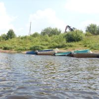 Река Кобра. Лодочная на Грехнёвке, Нагорск