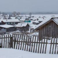 Вид на автостанцию с ул. Прудной, Нагорск