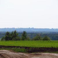 Вид в сторону северной части Кирова, Нововятск