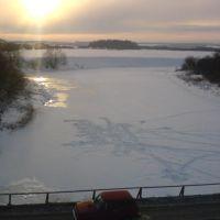 вид с чащинского моста, Нолинск
