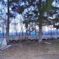 Парк и памятник 17 красногвардейцам поибшим в 1918г., Нолинск