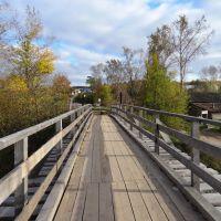 Пешеходный мост р. Воя г. Нолинск, Нолинск