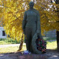 Памятник воинам, павшим во время Великой Отечественной Войны, Омутнинск