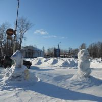 Ледяные фигуры, Омутнинск
